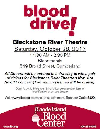 Blackstone River Theatre Cumberland Rhode Island